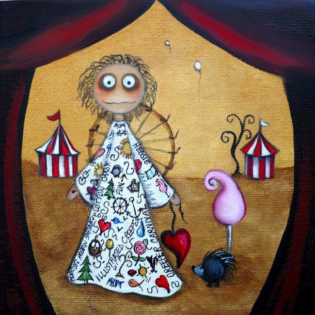 Art: The Tattooed Lady by Artist Charlene Murray Zatloukal