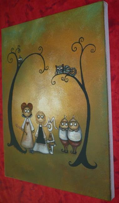 Art: Alice in Wonderland by Artist Charlene Murray Zatloukal