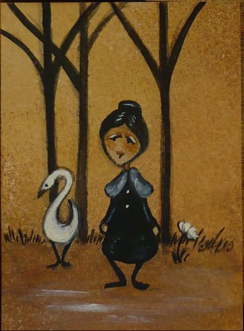 Art: A Walk In the Woods by Artist Charlene Murray Zatloukal