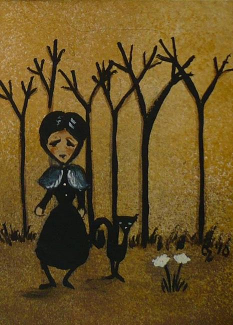 Art: Rustic Woods by Artist Charlene Murray Zatloukal