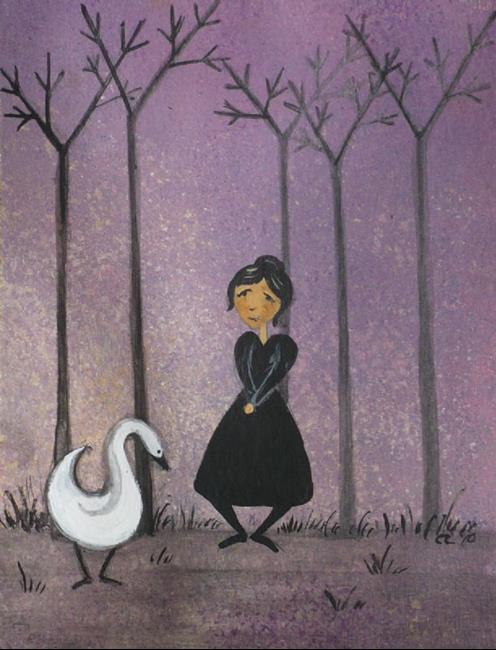 Art: A Loyal Friend by Artist Charlene Murray Zatloukal