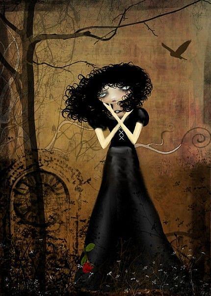 Art: Sorry is the Saddest Word by Artist Charlene Murray Zatloukal