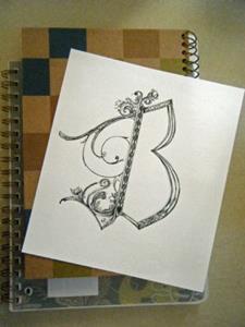 Detail Image for art Letter B