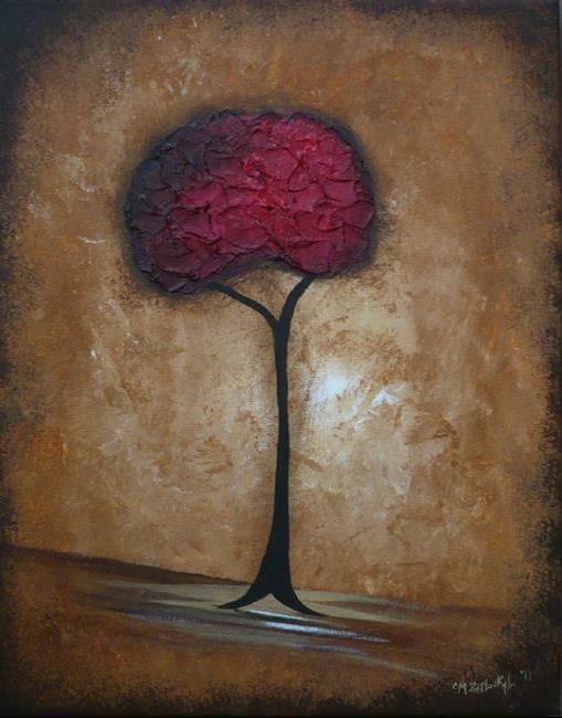 Art: Alone by Artist Charlene Murray Zatloukal