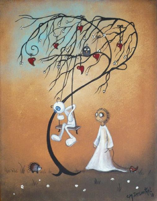Art: I Know It Gets Better by Artist Charlene Murray Zatloukal