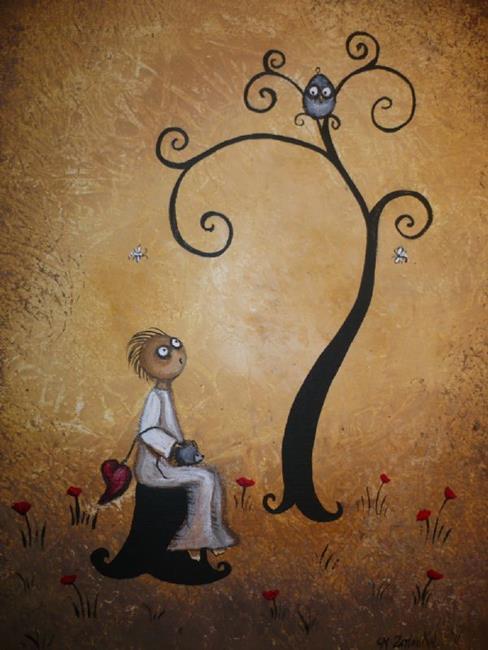 Art: A Moment To Rest by Artist Charlene Murray Zatloukal