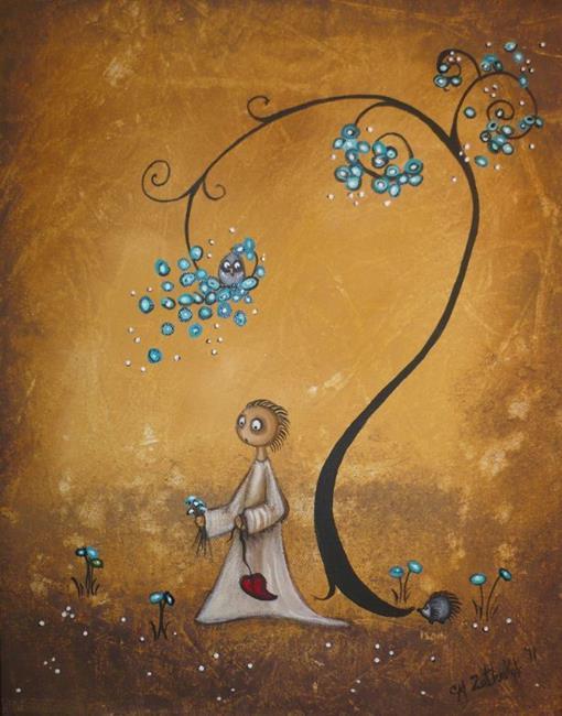 Art: spring is in the air by Artist Charlene Murray Zatloukal