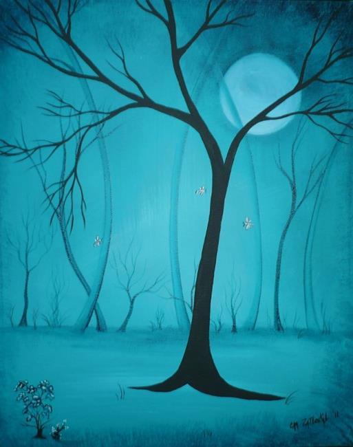 Art: Somewhere in the NIght by Artist Charlene Murray Zatloukal