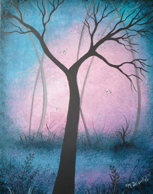 Art: After Dawn by Artist Charlene Murray Zatloukal