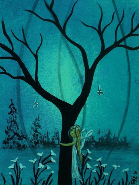 Art: Twilight Fairy by Artist Charlene Murray Zatloukal