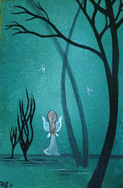 Art: In the Distance by Artist Charlene Murray Zatloukal