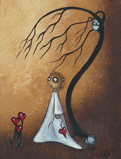 Art: Where Hearts Grow by Artist Charlene Murray Zatloukal