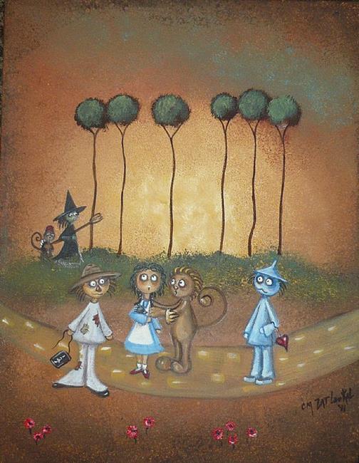 Art: Surrender Dorothy - Wizard of Oz by Artist Charlene Murray Zatloukal