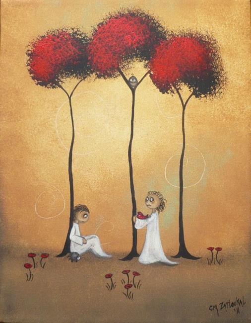 Art: This Fragile Heart by Artist Charlene Murray Zatloukal