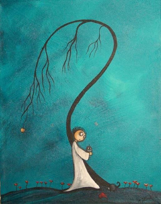Art: Darkness Falling by Artist Charlene Murray Zatloukal