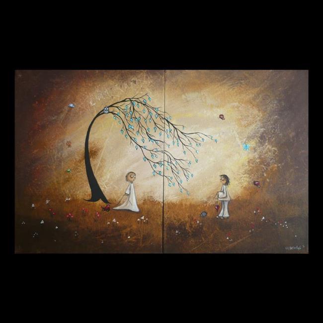 Art: Heart to Heart by Artist Charlene Murray Zatloukal