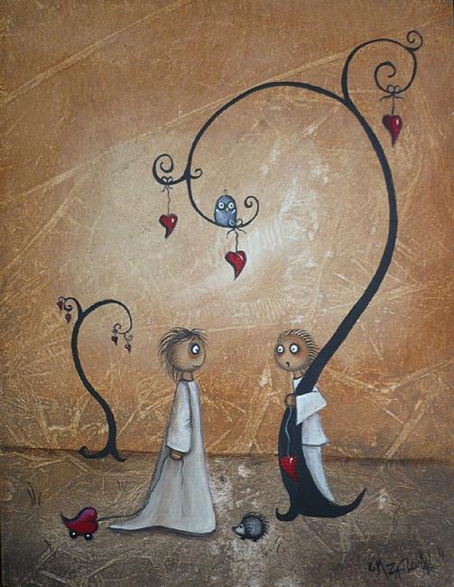 Art: I Thought I Could Make It Alone by Artist Charlene Murray Zatloukal