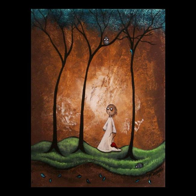 Art: Holding On To A Dream by Artist Charlene Murray Zatloukal