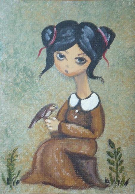 Art: Fly Away From Here by Artist Charlene Murray Zatloukal