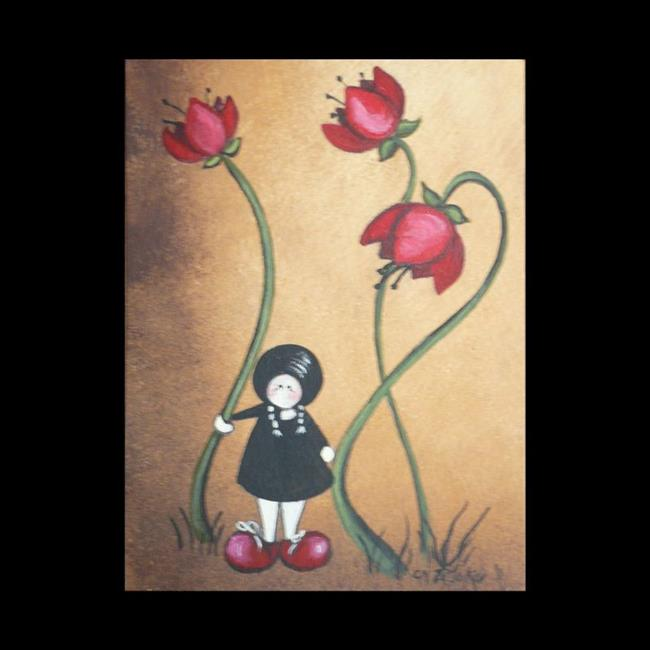 Art: Poppy by Artist Charlene Murray Zatloukal