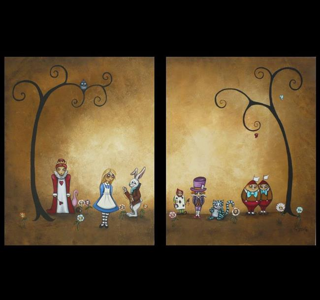 Art: Alice in Wonderland - Encore = sold by Artist Charlene Murray Zatloukal
