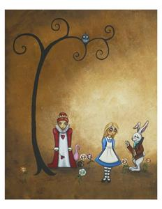 Detail Image for art Alice in Wonderland - Encore = sold