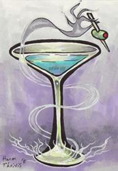 Art: Magic Martini by Artist Erika
