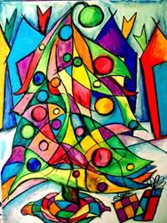 Art: Love for Christmas by Artist Chris Jeanguenat