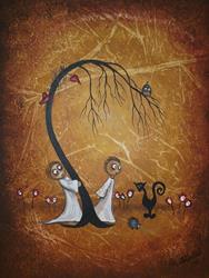 Art: Tied in Knots - sold by Artist Charlene Murray Zatloukal