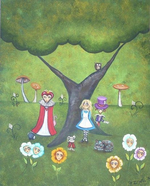 Art: Flowers Can't Talk - sold by Artist Charlene Murray Zatloukal