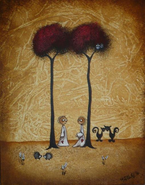 Art: Glad You Came - sold by Artist Charlene Murray Zatloukal