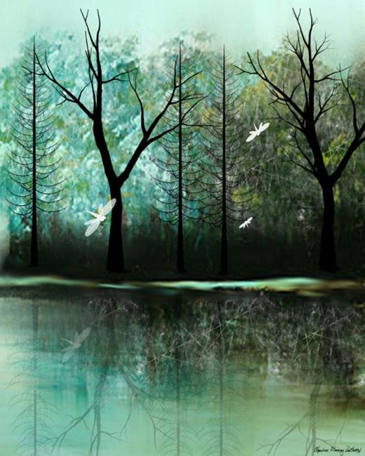 Art: Neverwinter by Artist Charlene Murray Zatloukal