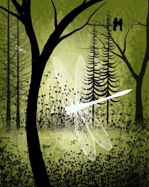 Art: Enchanted by Artist Charlene Murray Zatloukal