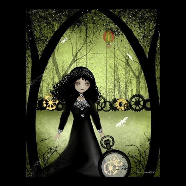 Art: clockwork princess by Artist Charlene Murray Zatloukal