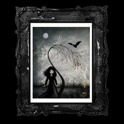 Art: Hallows Eve by Artist Charlene Murray Zatloukal