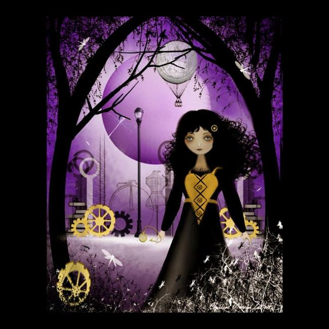 Art: Keeper of the Iron  Garden by Artist Charlene Murray Zatloukal