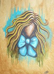 Art: Abstract Alice by Artist Charlene Murray Zatloukal