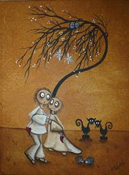 Art: We Could Have Danced  by Artist Charlene Murray Zatloukal