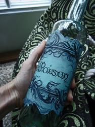 Art: Bottle Marked Poison by Artist Chris Jeanguenat