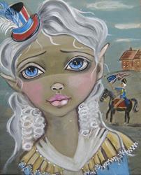 Art: The Return by Artist Vyckie Van Goth