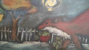 Detail Image for art The Stolen Apple