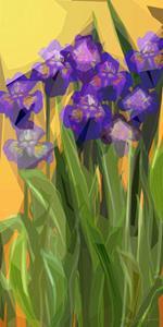 irises by: Alma Lee