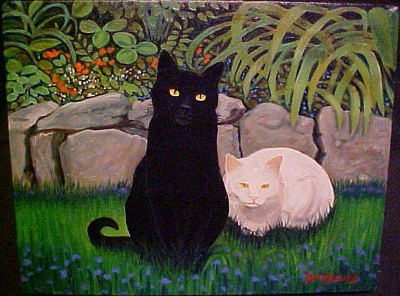 Art: GOOD NEIGHBORS by Artist Rosemary Margaret Daunis