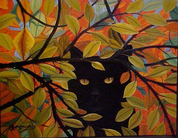 Art: END OF SUMMER by Artist Rosemary Margaret Daunis