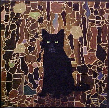 Art: AUTUMN MOSAIC by Artist Rosemary Margaret Daunis
