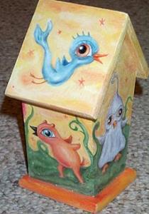 Detail Image for art The Birdhouse