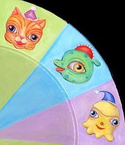 Detail Image for art Clock