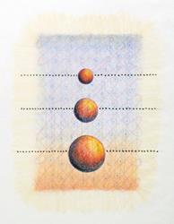 Art: Translucens #3 by Artist Wendy L. Gonick