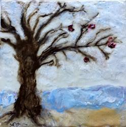 Art: Apple Tree by Artist Victor McGhee
