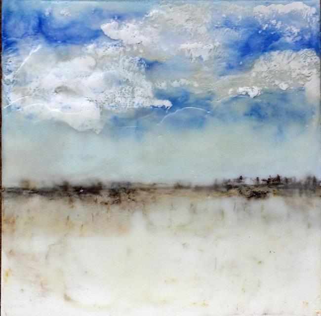 Art: Blue Sky Rain by Artist Victor McGhee